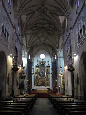 San Jerónimo el Real - Interior