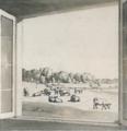Sanderumgaard Udsigt fra gæsteværelse 1806 Eckersberg.png