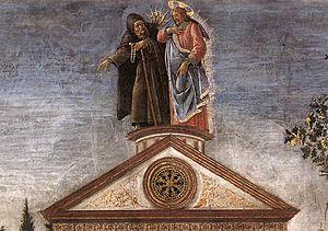 Part Of Sandro Botticellis The Temptation Christ