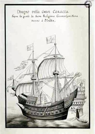 Pre-industrial armoured ships - The lead-sheathed war carrack Santa Anna (1522-40), which operated successfully against the Ottoman Turks