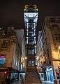 Santa Justa Lift at Night (28964684188).jpg