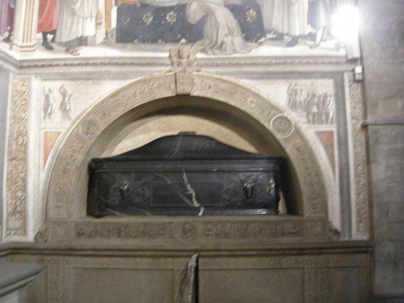 File:Santa trinita, cappella sassetti, giuliano da sangallo, sepolcro.JPG