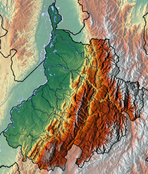 Lache people - Topography of Santander Department The Lache lived in highlands of the eastern part, continuing into Boyacá