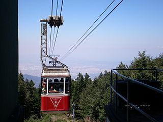 Bursa Uludağ Gondola Aerial lift in Bursa Province, Turkey