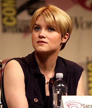 Sarah Jones (screen actress) - Jones at the 2012 WonderCon