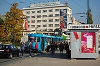 Sarajevo Tram-263 Line-3 2011-10-31 (2).jpg