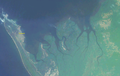 Satellite photo of the area around Port-Gentil.png