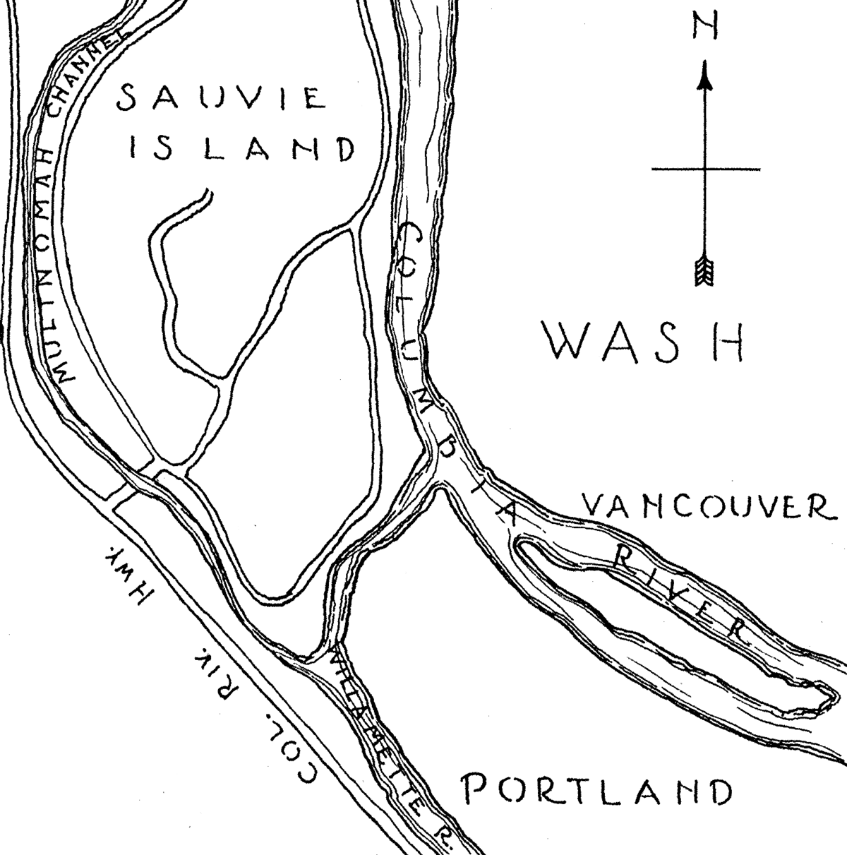 SAUVIE ISLAND; A Step Back in Time