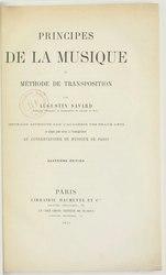 Augustin Savard: Principes de la musique et méthode de transposition, 4e édition