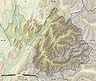 Savoie department relief location map.jpg