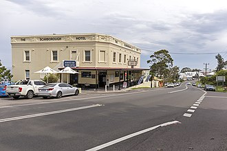 Scarborough, New South Wales - Scarborough Hotel on Lawrence Hargrave Drive
