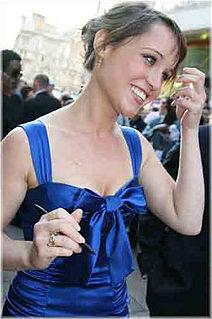Scarlett Alice Johnson English actress