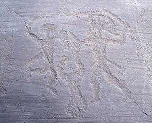 Petroglifoj en Nadro