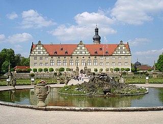 Weikersheim Castle Palace in Baden-Württemberg, Germany