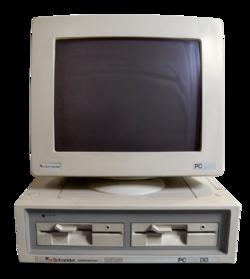 Schneider Amstrad PC 1512 DD Transparent BG.png