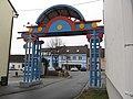 Schrems - Hauptplatz - Schremser Willkommenstor.jpg