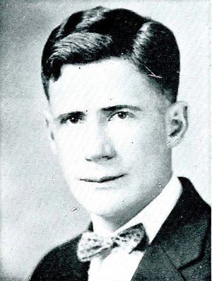 Schubert R. Dyche - Dyche from the 1930 Montanan