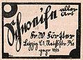 Schweife aller Art, W. Förster, Leipzig, Anzeige 1930.jpg