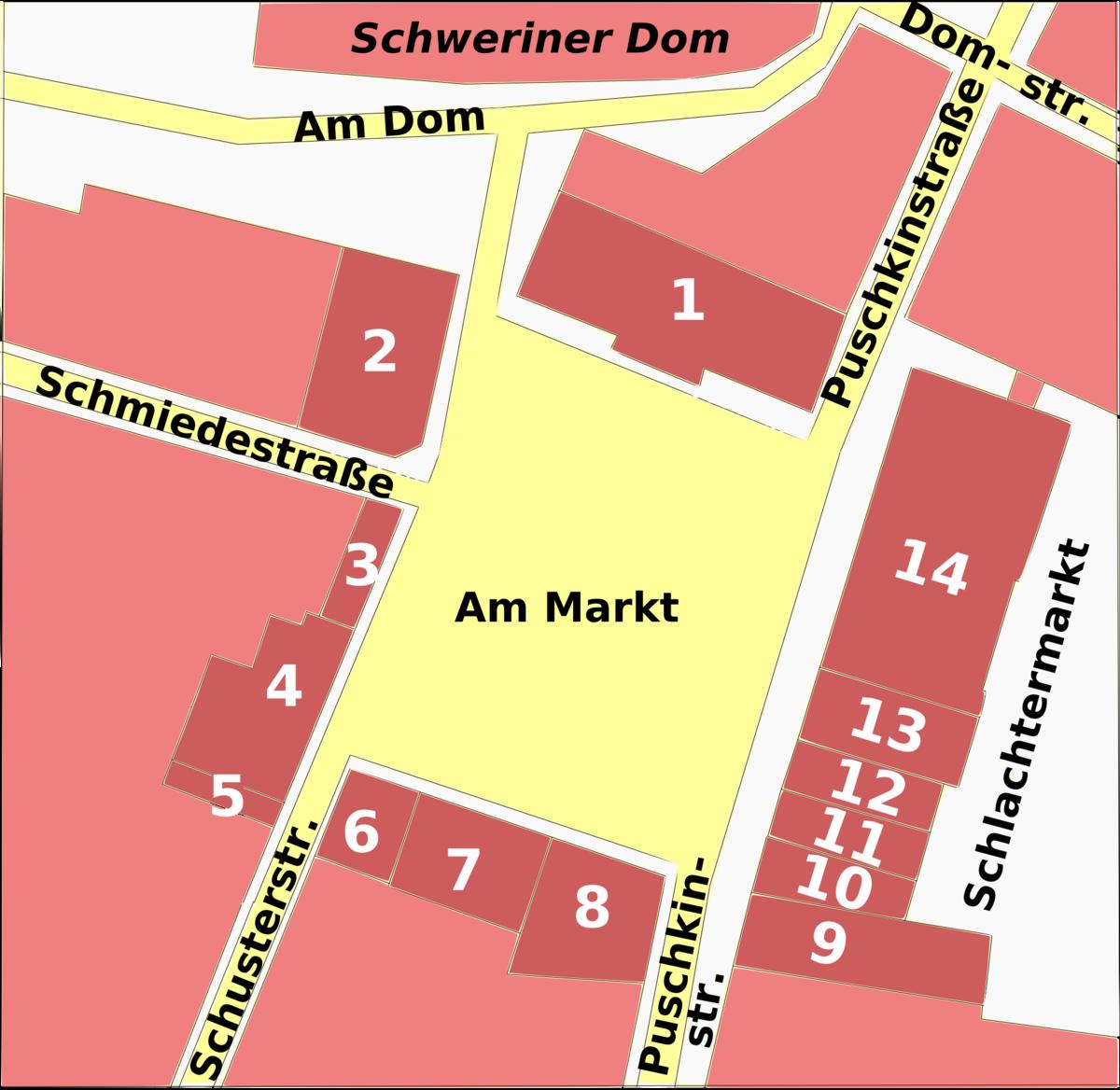 Schwerin Markt Plan.png