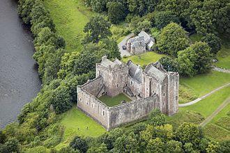 Clan Stewart - Doune Castle, seat of Robert Stewart, Duke of Albany