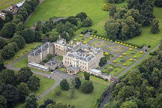 Newbattle Abbey abbey in Midlothian, Scotland, UK