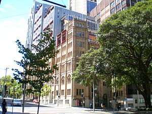 York Street, Sydney - Scots Presbyterian Church, corner of York and Margaret.