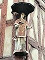 Sculpture - half-timbered house - Chalon-sur-Saône - DSC06155.jpg