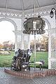 Sculpture of Imre Varga in the bandstand, Siófok.jpg