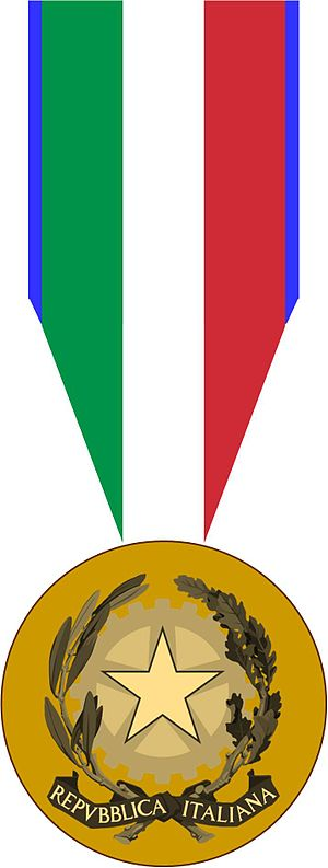 Italian Order of Merit for Culture and Art cover