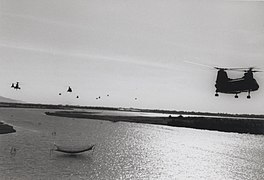 Sea Knight Helicopters, 1969 (20739557355) (cropped)