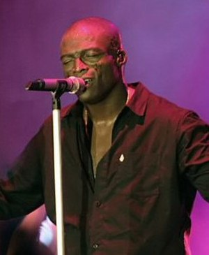 Seal discography - Seal performing in Frankfurt, Germany (2006)