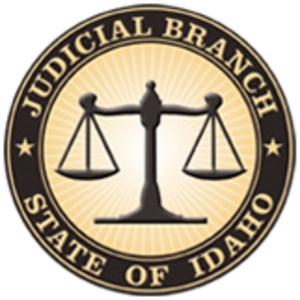Idaho Supreme Court - Image: Seal of the Judicial Branch of Idaho