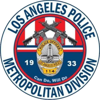 LAPD Metropolitan Division Division of Los Angeles Police, California, U.S.