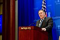 """Secretary Pompeo Delivers a Speech, """"After the Deal A New Iran Strategy"""", at the Heritage Foundation (27386414477).jpg"""