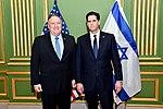 Secretary Pompeo Poses for a Photo With Ambassador Dermer (47943963131).jpg