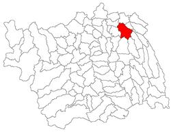 Vị trí của Secuieni