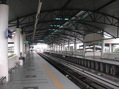 Bagaimana untuk pergi ke Sentul Timur dengan pengangkutan awam - Tentang tempat tersebut