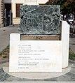 Sesto fiorentino, lapide ai caduti per i moti del pane del 1898, con lapide del 1909 ricostruita, e ripristinata nel 1985, 01.jpg