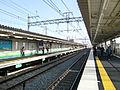 Settsu-shi Station Platform.JPG