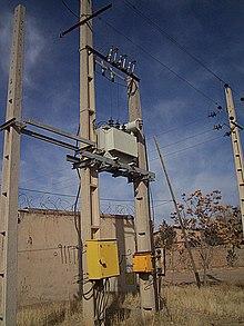 Utility pole - Wikipedia on