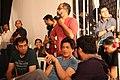 Shahrukh Khan, Adnan Safee and Bappaditya Roy. On the sets of Hyundai i14.jpg