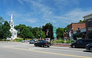 Sharon Historic District (Sharon, Massachusetts) United States historic place