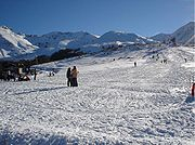 Ski Resort in the Šar Mountains.