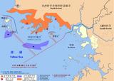 Zona de conflito entre Coreia do Norte e Coreia do Sul