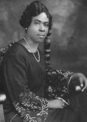 Minnie M. Cox - Minnie Cox c. 1900