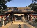 Shimmon Gate of Umi Hachiman Shrine 2.jpg