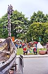 Ship and camp at Viking Days at Nordic Heritage Museum.JPG