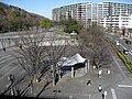 Shiroyama Park viewed from Sanwa Market.jpg
