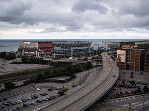 Cleveland Memorial Shoreway - Cleveland Memorial Shoreway in 2013