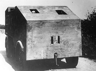 Bison concrete armoured lorry - Short wheelbase Bison